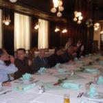 Ručak u restoranu Zvonimir, MORH.