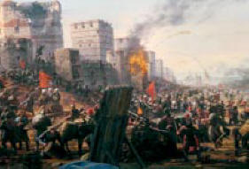 Turci zauzimaju Carigrad