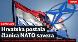 Hrvatska postala članica NATO-a