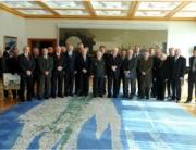 """Prijem sudionika operacije """"ORKAN 91"""" kod predsjednika Republike Hrvatske Ive Josipovića - Zagreb, 28.10.2010."""