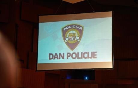 HRVATSKA POLICIJA SVEČANO OBILJEŽILA SVOJ DAN